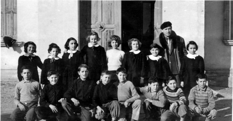 'Classe X elementare', Gruaro, data