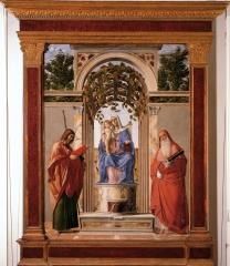 'Pala di Vicenza (Madonna con san Giacomo e San Girolamo)'