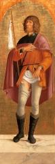 'Tavola di San Rocco (dal Polittico di Olera)'