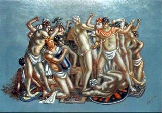 'Combattimento di gladiatori'