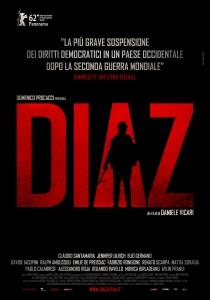 'Diaz', 2012, locandina italiana