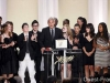 Il regista ed il cast di 'Entre les murs', Cannes, 2008