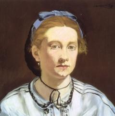 Édouard Manet, 'Victorine Meurent',1862