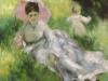 Pierre-Auguste Renoir, 'Donna con parasole', 1874-1876