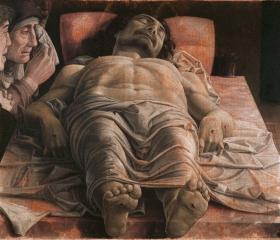 'Cristo morto', datazione incerta