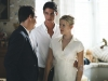 Jonathan Rhys Meyers, Matthew Goode, Scarlett Johansson in 'Match Point', 2005