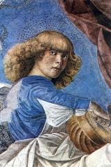 Melozzo da Forlì, 'Angelo con liuto'