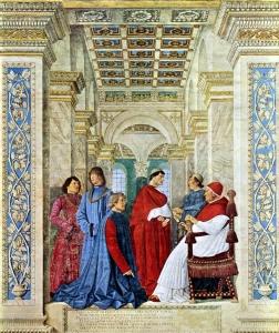 'Sisto IV nomina il Platina prefetto della biblioteca Vaticana'