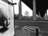 'Marylin sotto il ponte' (Ougrée, Liegi)