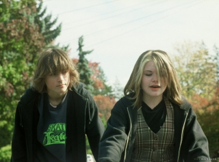 Gabe Nevins e Lauren McKinney in 'Paranoid Park', 2007