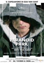 'Paranoid Park', 2007, locandina italiana