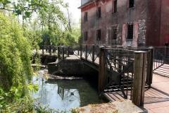 'La passerella del ponte di Boldara'