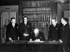 'La promulgazione della Costituzione della Repubblica Italiana'