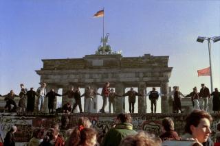 'Berliner Mauer', 1989