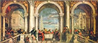 'Cena nella casa di Levi', 1573