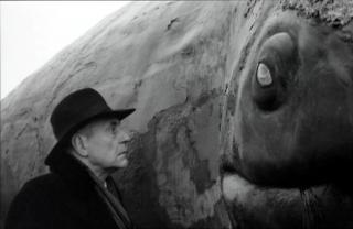 Peter Fitz in 'Le armonie di Werckmeister', 2000